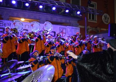Carnaband sur scène Brissago