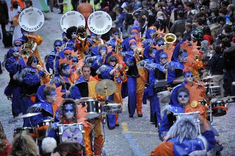 Carnaband défilé Moudon 2011